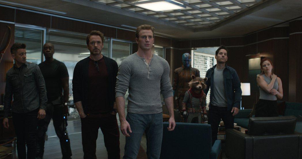 扮演「復仇者聯盟」主要成員的演員大都名利雙收。圖/摘自imdb