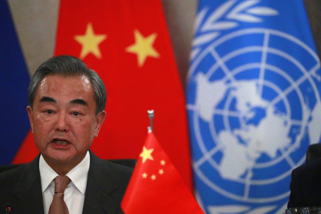 中國外長王毅。  路透