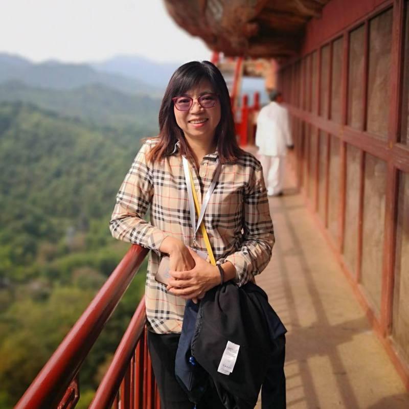 律師陳麗玲以宜蘭地院上月判決的案子打臉蔡總統。取自臉書