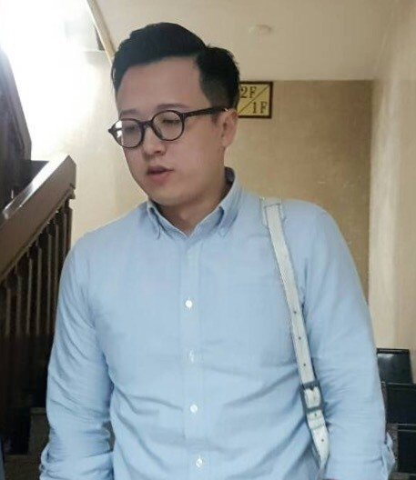 國民黨「草協聯盟」發起人李正皓。聯合報資料照/記者張宏業攝影