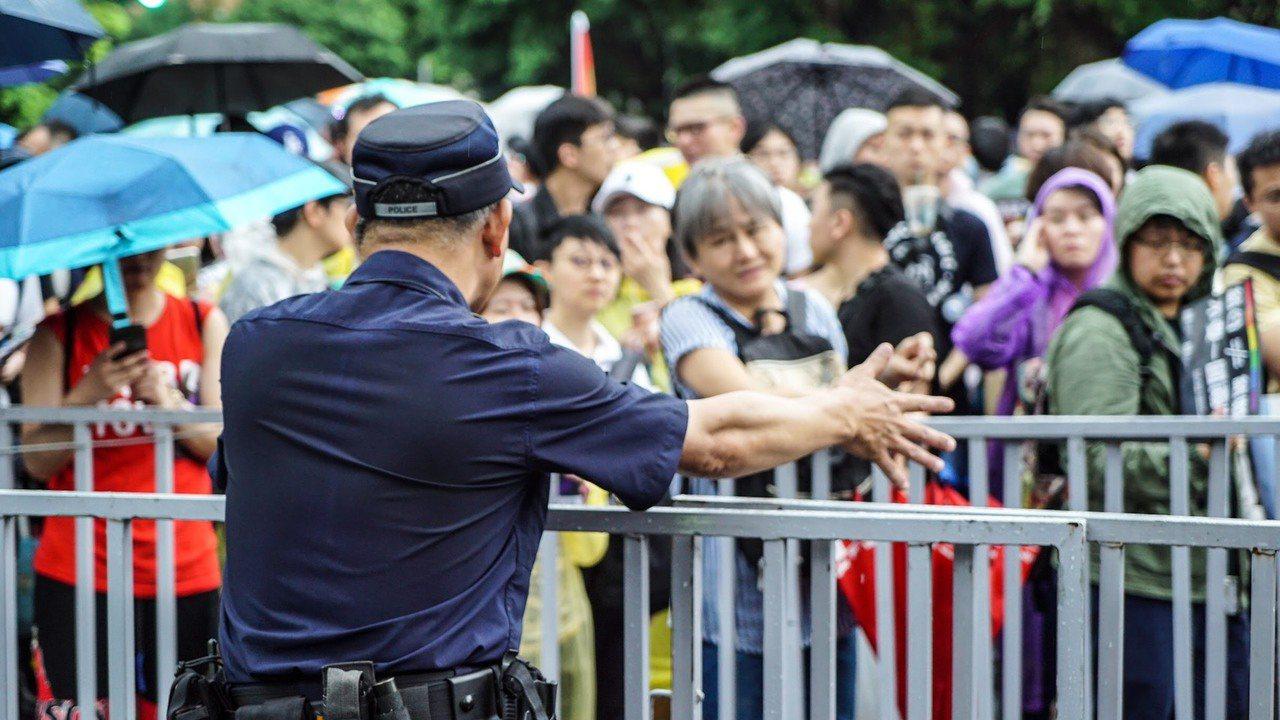 針對在台北市、高雄市及台南市的聲援反送中遊行,警政署將增派警力支援。圖/警政署提...
