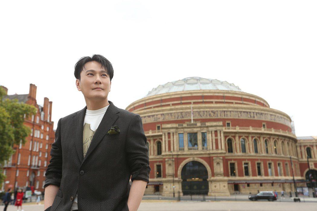 張信哲「未來式」巡演海外首站,將登英國有148年歷史的皇家阿爾伯特音樂廳。圖/潮