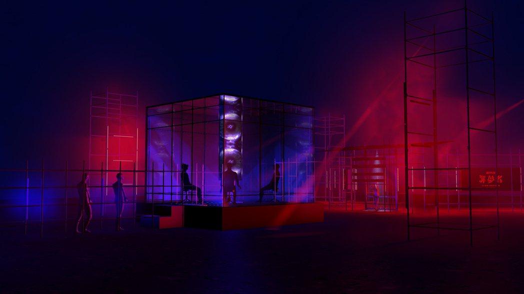 Netflix為首部華語原創影集「罪夢者」,重金打造VR體驗空間「罪夢室」。圖/...