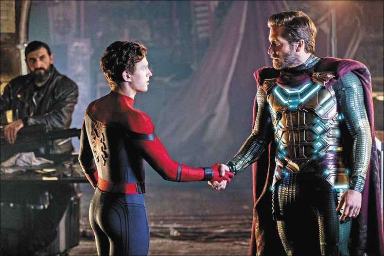 「蜘蛛人:離家日」。圖/索尼提供