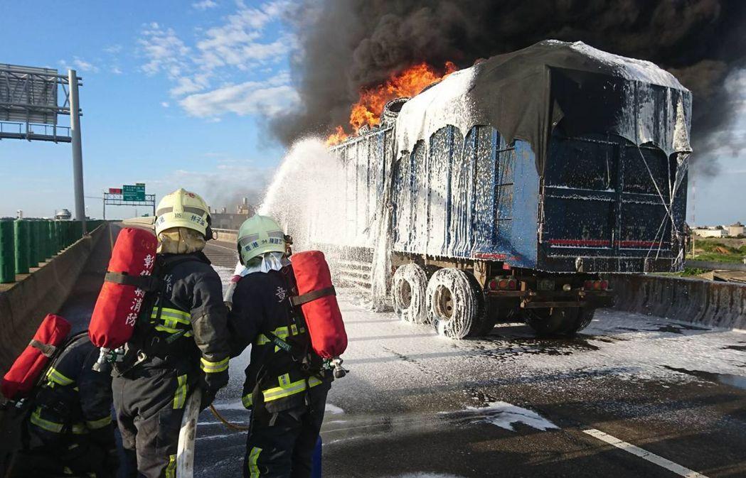 火燒車原因最多的是機械及電氣問題,平時如果不注意車輛保養與檢查,恐會引火上身。圖...