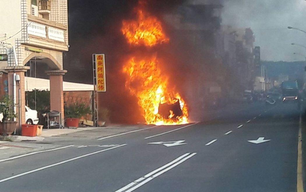 火燒車原因最多的是機械及電氣問題。圖/聯合報系資料照片