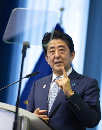 日本首相安倍晉三 美聯社