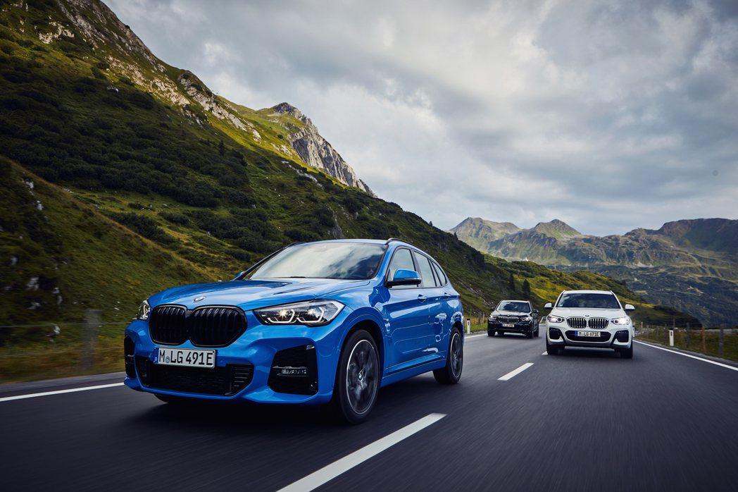 全新BMW X1 xDrive25e綜效馬力可達220hp/39.3kgm。 摘...