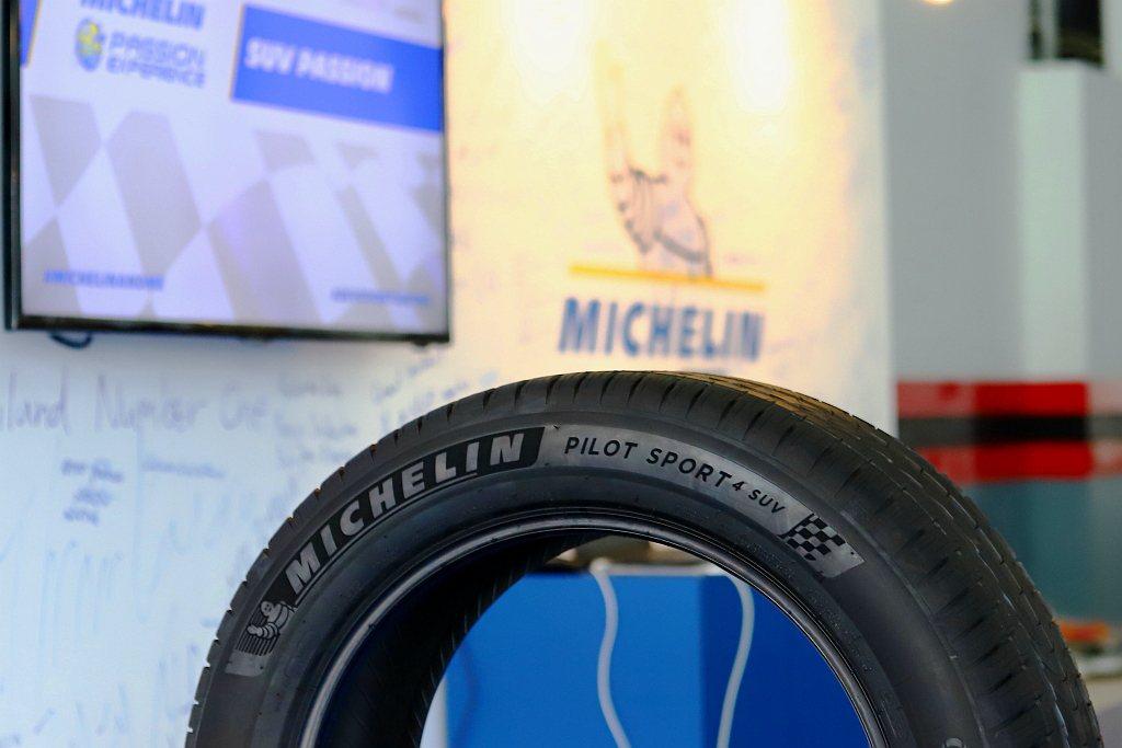 今年體驗重點為5月才在台灣發表的米其林Pilot Sport 4 SUV胎款。 ...