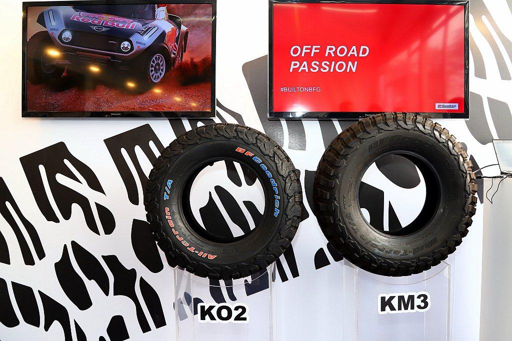 米其林輪胎旗下越野胎品牌百路馳(BFGoodrich),也是米其林Passion...