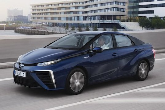 第二代Toyota Mirai氫燃料車 預計將在2020年發表
