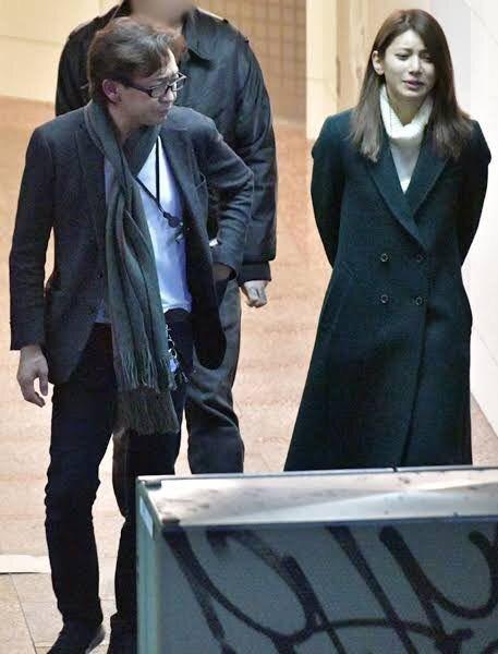 城島茂和菊池梨沙曾被拍到約會。圖/摘自推特