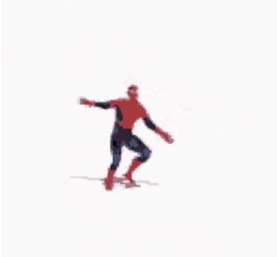 辛蒂亞在推特上發布蜘蛛人手舞足蹈的動態圖,顯然對於索尼和漫威達成新的合作協議很開...
