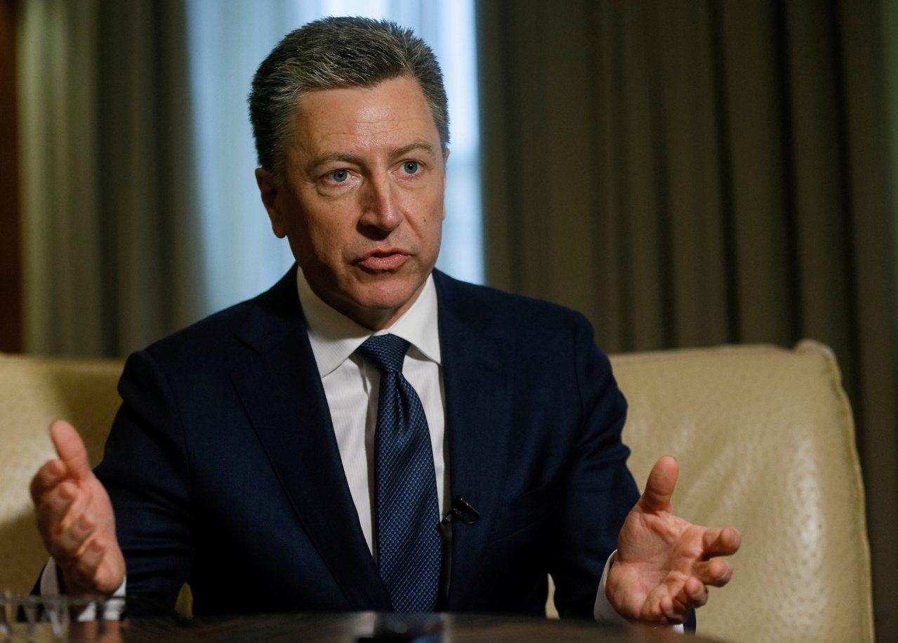 美國的烏克蘭特使Kurt Volker因川普電話門辭職。路透