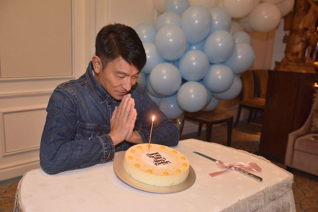 華仔昨晚58歲生日。圖/台灣映藝提供
