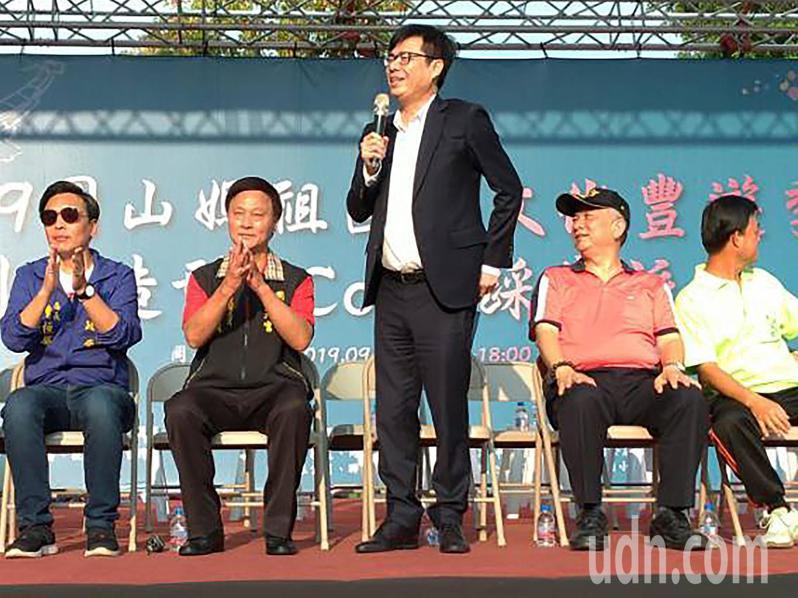 行政院長陳其邁參加壽天宮媽祖國際文化豐遊季。圖/壽天宮提供