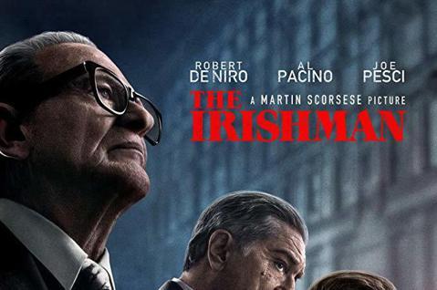 大導演馬丁史柯西斯籌拍10年才終於完成的新片「愛爾蘭人」在紐約影展首映後贏得潮佳評,被譽為和他之前「四海好傢伙」、「賭國風雲」一樣精彩的傑作,雖然片長3小時29分,卻充滿令人讚嘆的演出,他也拍出了老...