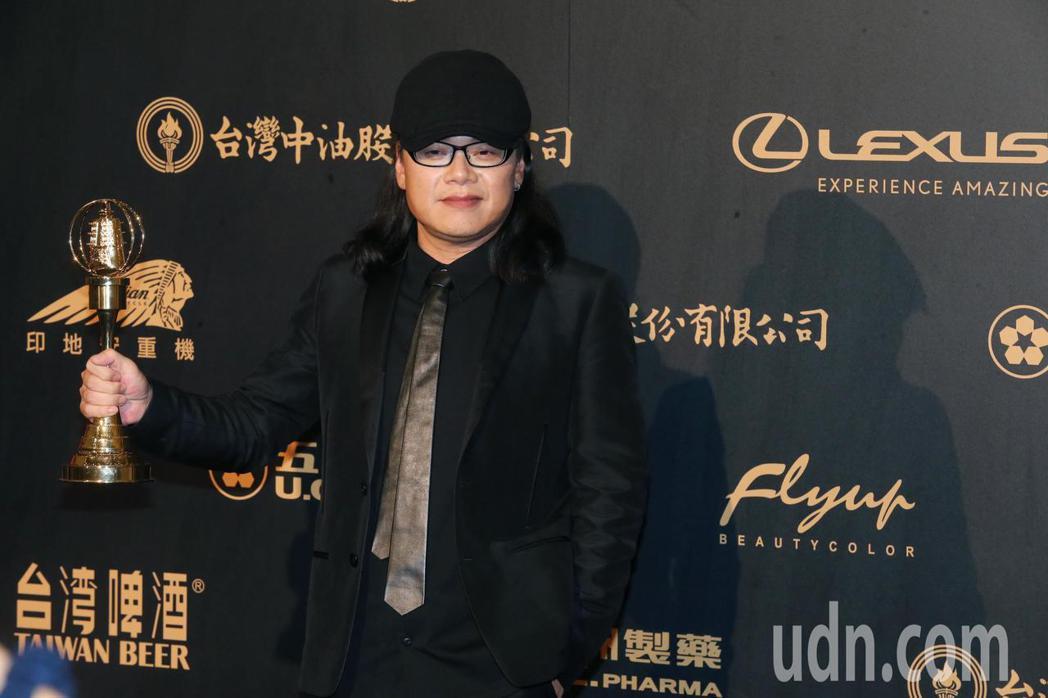 流氓阿德以《全世界最亮的光》獲得「生活風格節目獎」。記者徐兆玄/攝影