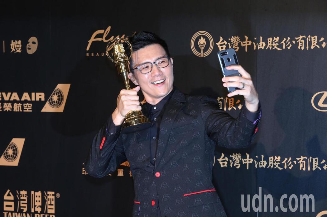 蔣偉文以《蔣公廚房》拿下「生活風格主持人獎」。記者徐兆玄/攝影