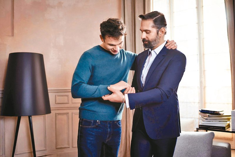 Chaumet看好市場潛力,也順勢推出男性珠寶產品。 圖/Chaumet提供