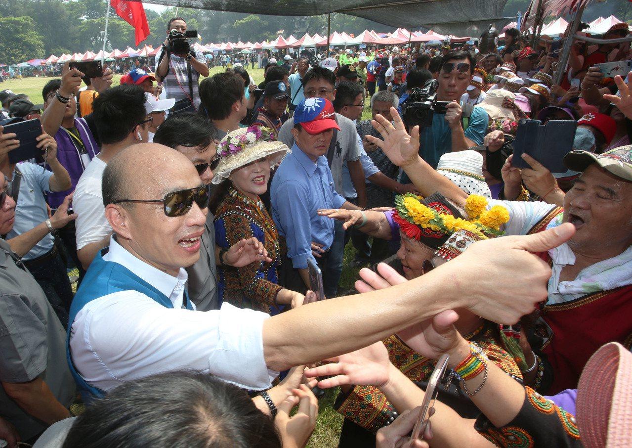 國民黨總統候選人韓國瑜。 圖/聯合報系資料照片
