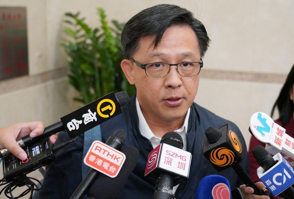圖為香港建制派議員何君堯。 香港中通社