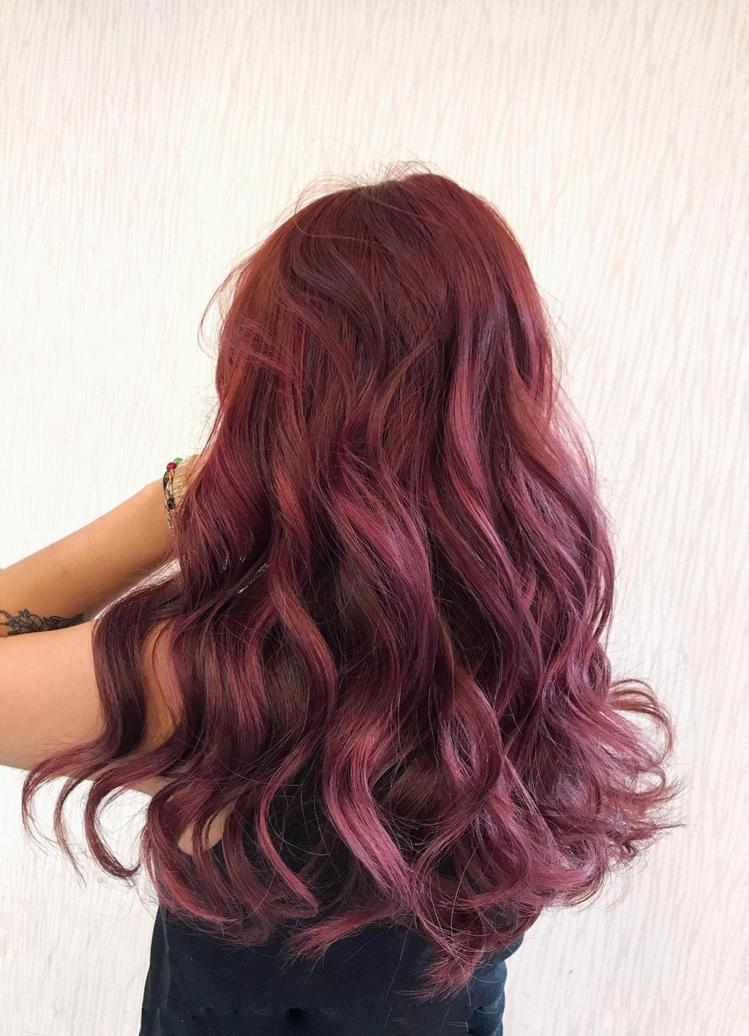 髮型創作/尚洋髮藝館前店 / KiNa。圖/StyleMap美配提供
