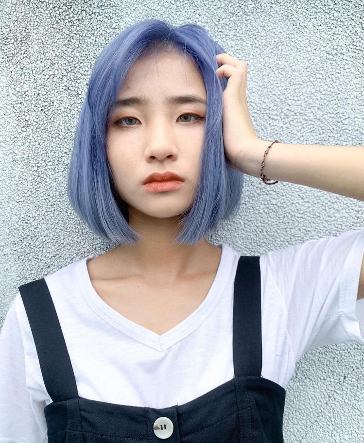 髮型創作/集色髮館 西門店 / 戴敏茹。圖/StyleMap美配提供