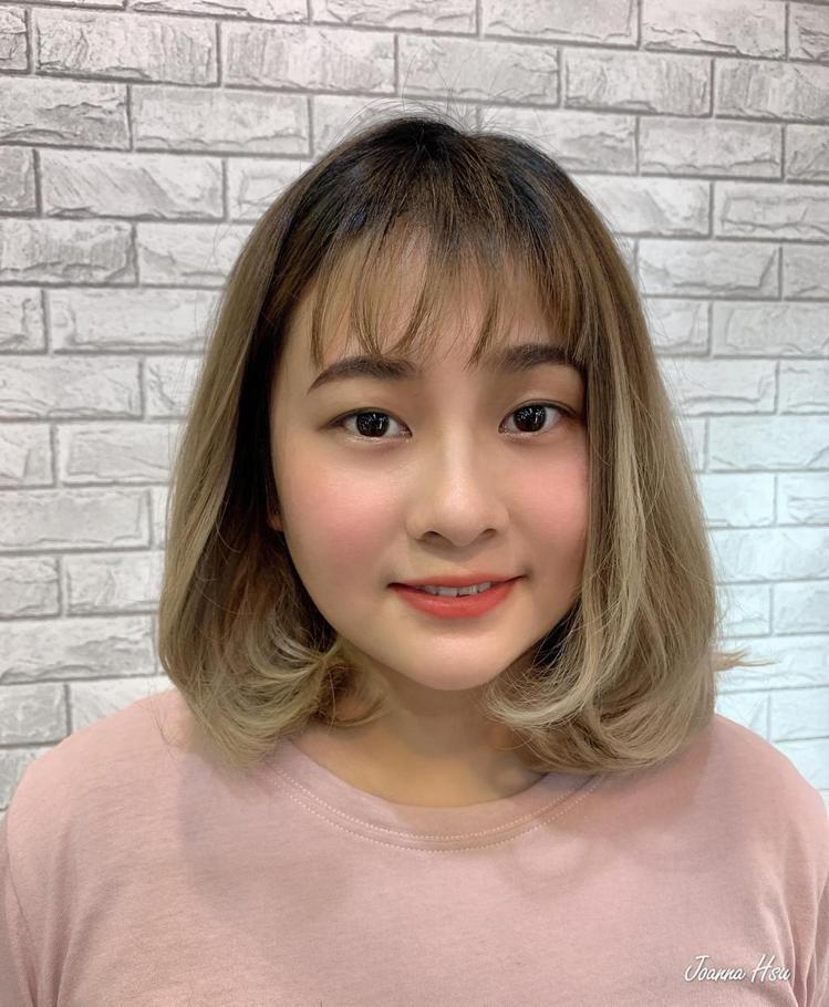 髮型創作/樂咖啡美髮沙龍 / 魔髮師Joanna。圖/StyleMap美配提供