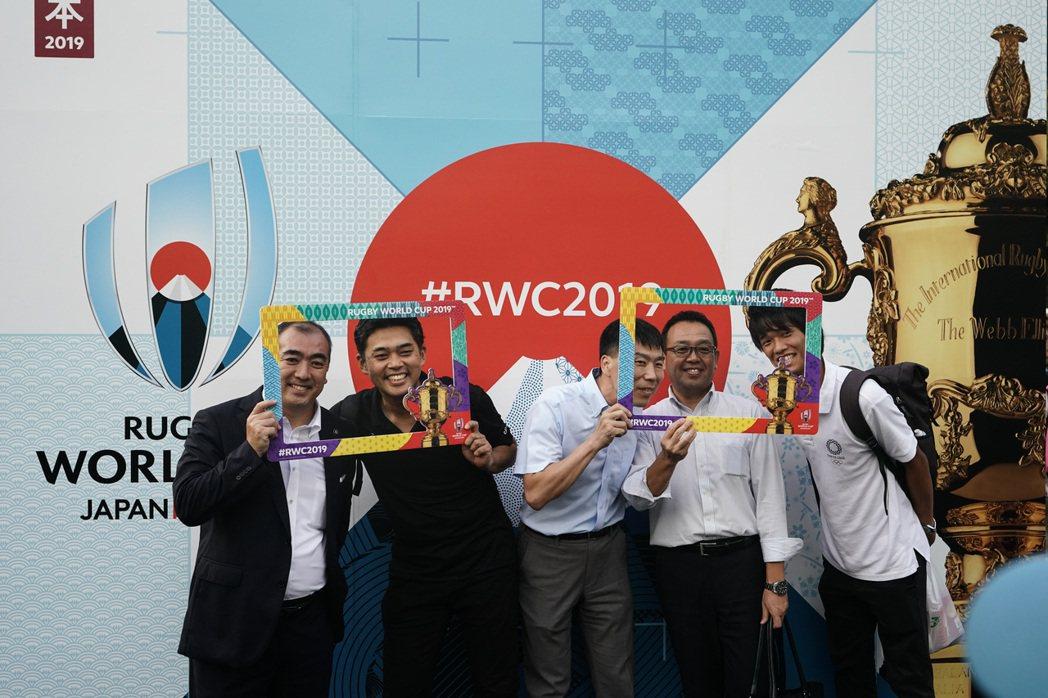 2019年世界盃橄欖球賽在日本舉行。美聯社