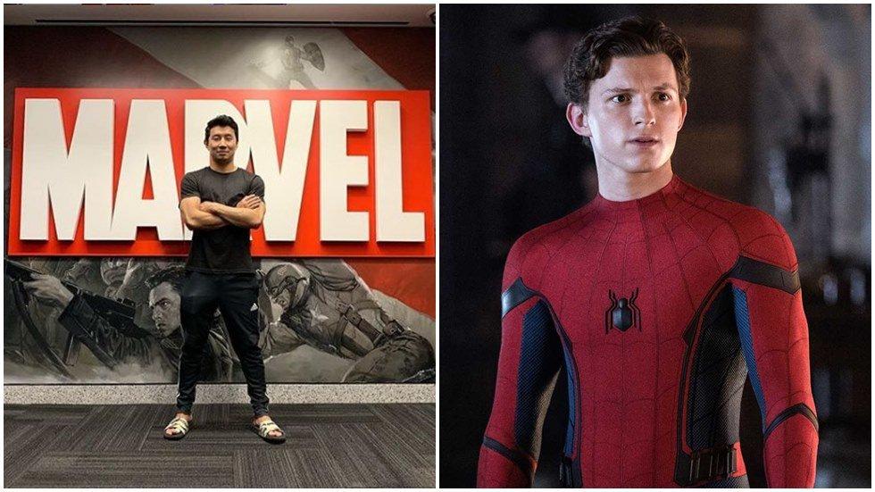 「上氣」劉思慕想與「蜘蛛人」湯姆霍蘭德一起演出。圖/摘自IG、索尼電影