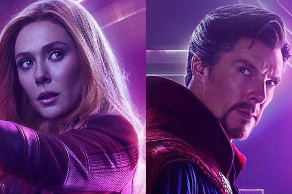 「奇異博士2」將會讓奇異博士、緋紅女巫兩大英雄合體。圖/迪士尼提供