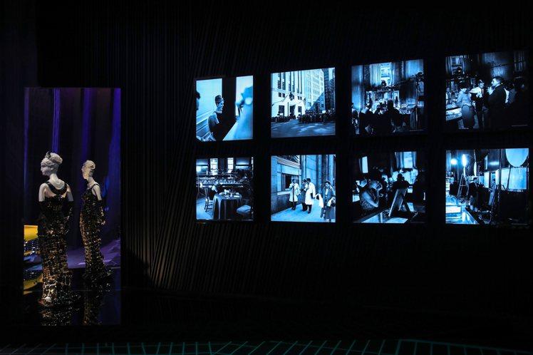 匠心妙藝品牌展覽,特別規劃出電影「第凡內早餐」的主題區。圖/Tiffany & ...