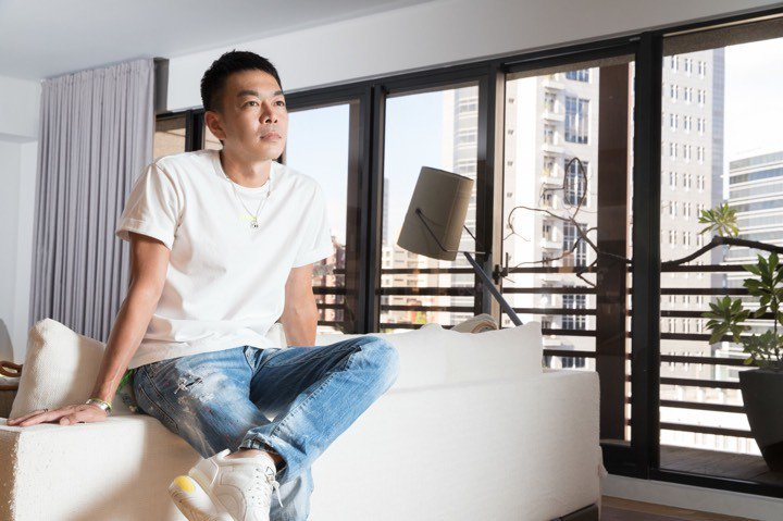 蔣承縉是唱片圈強悍的經紀人。 記者陳立凱/攝影