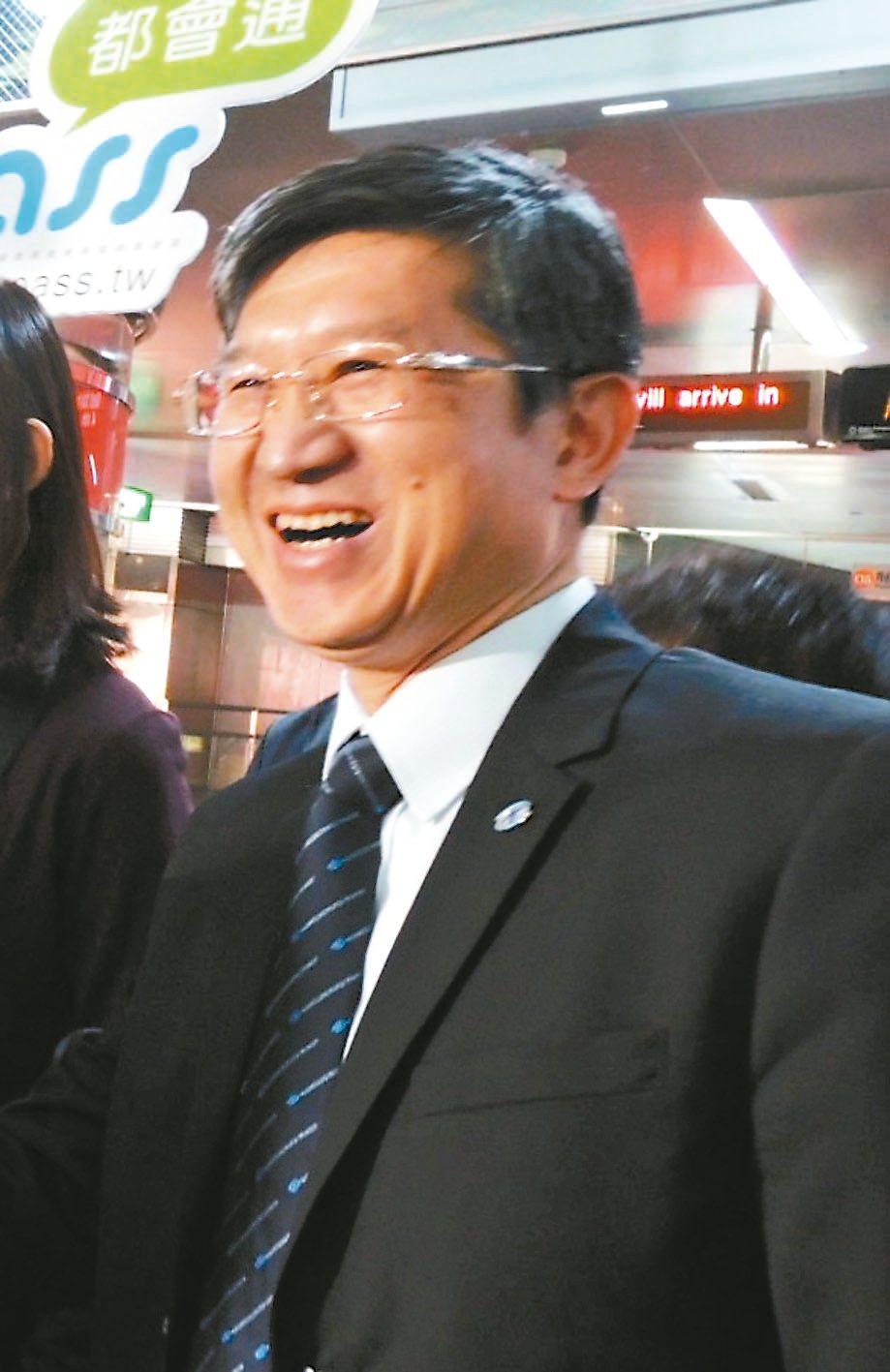 高雄捷運公司副總經理賀新心肌梗塞驟逝,同事不捨。 記者蔡孟妤/翻攝