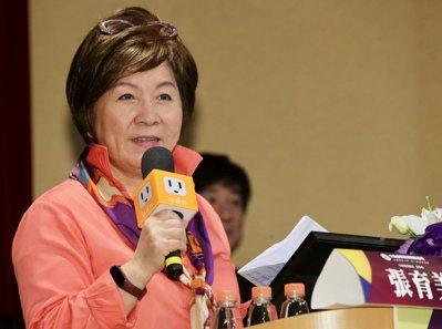 天成醫療體系董事長張育美表示,政府若能提供更多機構照顧補助,就能幫助照顧者有機會...
