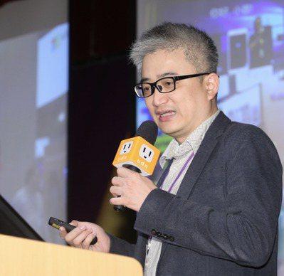 台灣人工智慧實驗室AI Lab.tw創辦人杜奕瑾,主張把AI應用在醫療場域。 記...