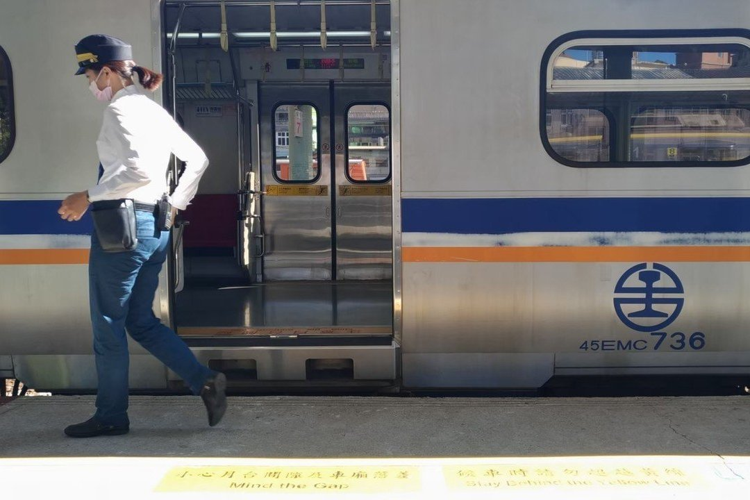 台鐵往台南區間車撞死倒臥軌道行人 目前單線通行