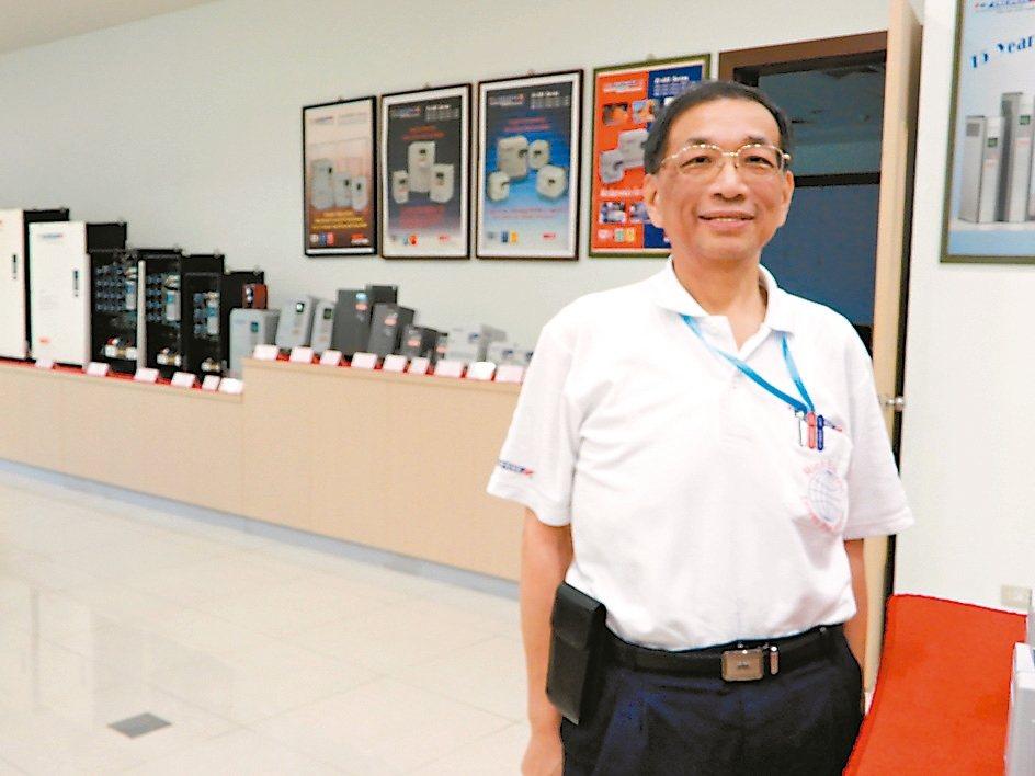 利佳興業董事長陳俊榮。 翁永全/攝影
