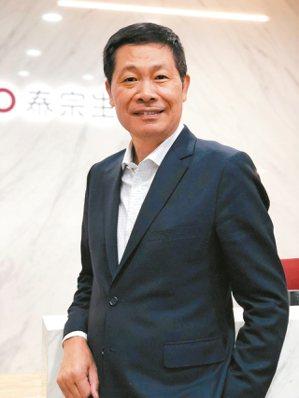 泰宗生物科技董事長徐煥清。 記者黃文奇/攝影