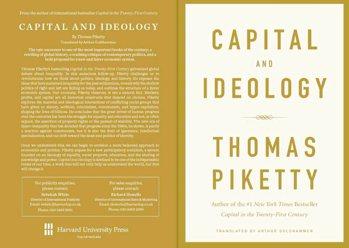皮凱提出版新書《資本與意識形態》 圖/皮凱提「推特」