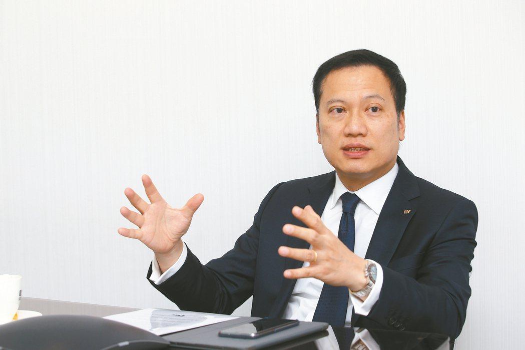 安永聯合會計師事務所所長傅文芳。 記者蘇健忠/攝影