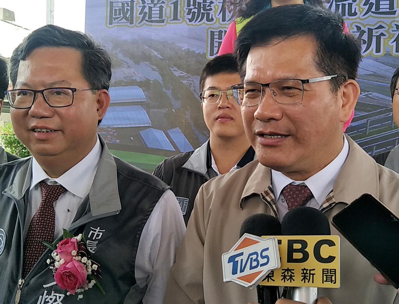 交通部長林佳龍(右圖)。聯合報系資料照/記者曾增勳攝影