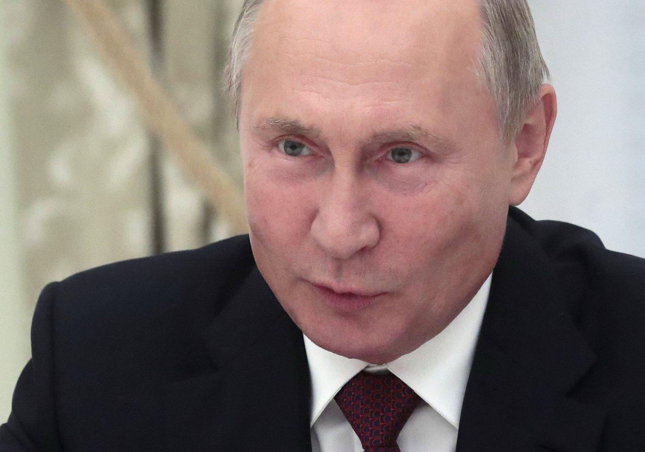 俄羅斯總統蒲亭。 歐新社