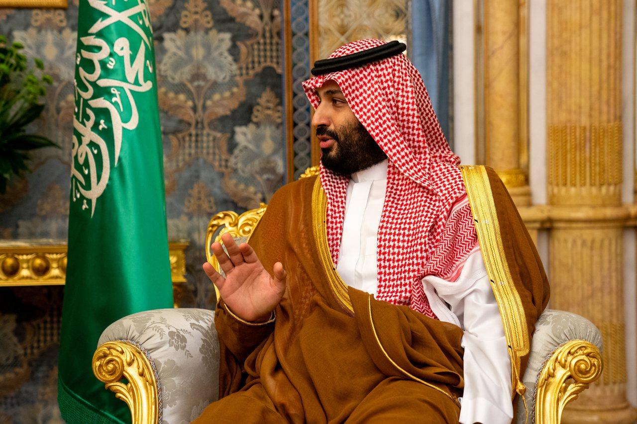 沙烏地阿拉伯王儲穆罕默德.沙爾曼。 歐新社