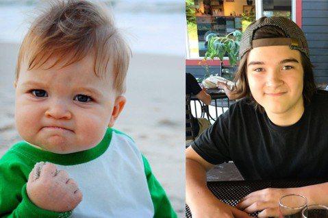 網路上常會出現一張一個可愛的外國寶寶緊抿嘴巴,小手握拳的模樣,這個被網友稱為「Success Kid」的加油寶寶,如今已經長大成為一位13歲的少年Sammy,他的媽媽在IG上分享近照,從五官中還能看...