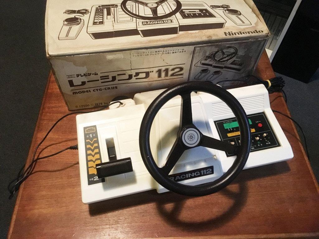 初代家用遊戲機RACING 112(nintendosegajapan圖片)