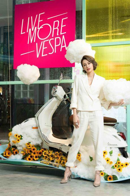 為美而生的時尚工藝Vespa 臺北時裝週快閃登場