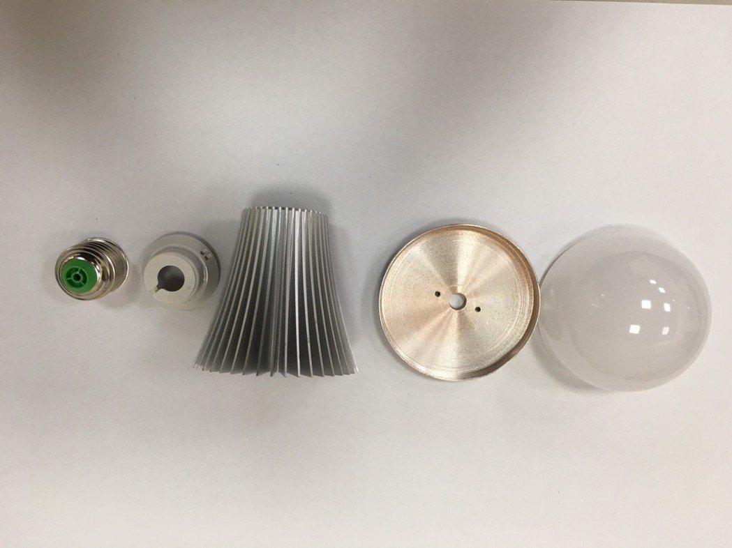 所有零組件拆裝便利且使用單一材質,95%可重複使用。