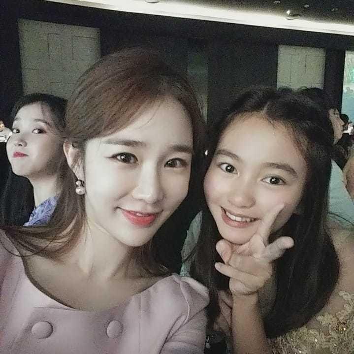 葛素媛在IG公開了和劉寅娜、IU的合照。圖/擷自IG